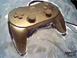 Golden Classic Controller Pro :Colors 3D: by Xero-J