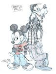 Mickey and Goofy- Team up week by tombancroft
