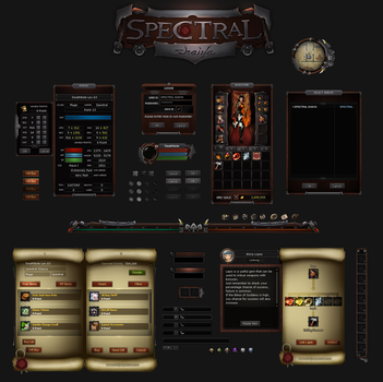 Spectral Shaiya - New Game Interface by simpleARTgg