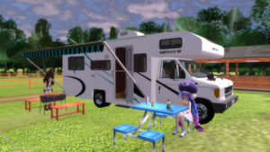 [MMD] Ford Motorhome v1.0 by MichaelOKeefe1991