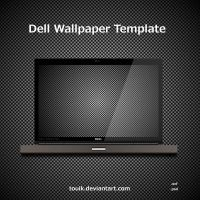 Dell Wallpaper Template by autormali