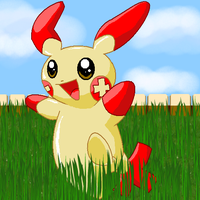 Plusle by PipeDreamNo20