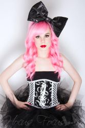 Cheshire Cat Underbust Corset by TheVintageDoctor