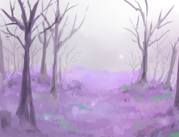Scenery/background exercise #3 by Mirachaan