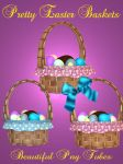 Pretty Easter Baskets PNG by kayshalady