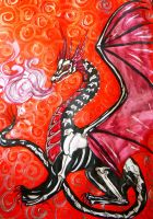 Death Dragon by chaosqueen122