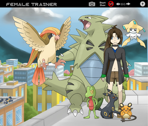 me and one of my pkmn teams by teru-dagger-master