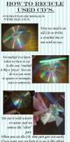 Tutorial: Recicle used cd's by MizaoRocks