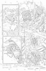 Nightmare Creatures- Mckenna-ORiley page 2 pencils by joriley