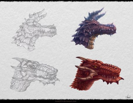Dragon`s Design by Azot2017