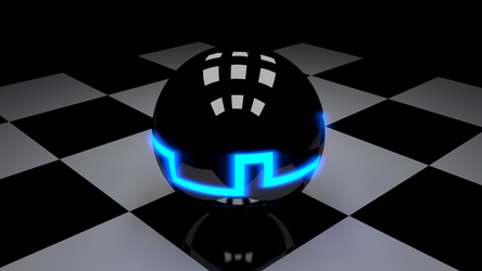 Tron Ball by DollarAkshay