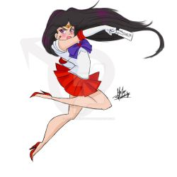 Sailor Mars Attack