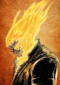 Ghost Rider Sov Color by azzh316