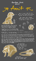 Random Facts About Ammit (EVOLOONS) by CoffeeAddictedDragon
