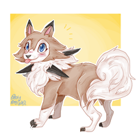 lycanroc by superlucky13