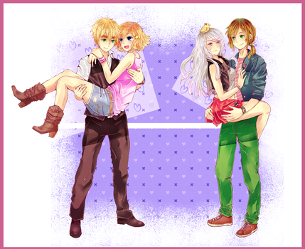 [APH: Version Favorite Couples] by Anniih