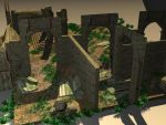 Old practice --- Ancient Ruin 05 by Linaerlight