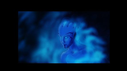 Asari - biotic power by AMYisC0P1C