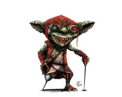 Goblin pirate by shiprock