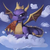 Spyro the Dragon - STREAM REQUEST by catUranian