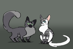 Dovewing and Ivypool by Amande-Dooce