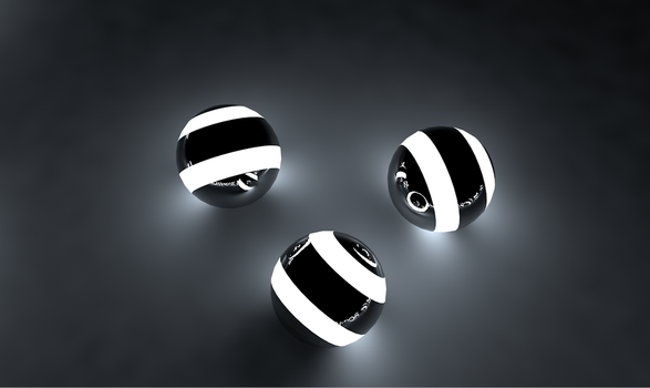 Cinema4D Balls by SystematicPsycho