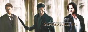 Supernatural Trio (Banner FB) by Nadin7Angel