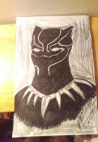 Black Panther by brookellyn