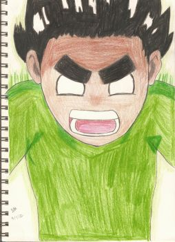 Day 36: Rock Lee by cycoclash25