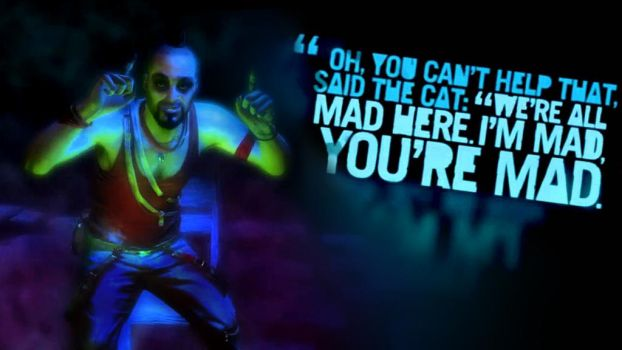 Far cry 3 All mad Here by FallenAngelAlly