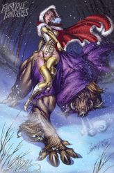 Beauty and the BEAST 2011 by J-Scott-Campbell