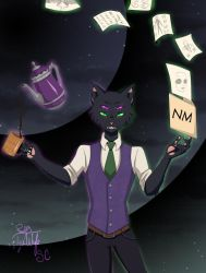 Nick Nocturne (Night Mind) by TykiWife
