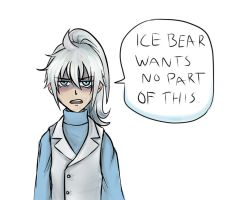Ice Bear Gijinka by Kiosa
