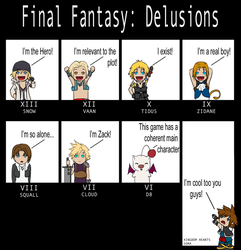 Final Fantasy: Delusions by Past-Chaser