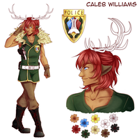 [Y] Fiche Personnage - Caleb by Buttea