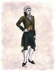 The Earl of Mooresholm in Colour by Shakoriel
