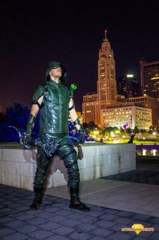 'I am the Green Arrow' by BlitzkriegCosplay