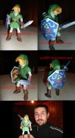 Big Link OOT Papercraft by ryo007