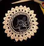 Lace skull by modgud-merry