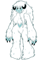 Chilali Yeti by Askthewerewolfprince