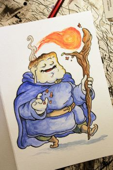 Marshmallow Wizard by claudetc