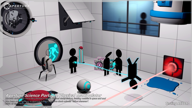 Aperture Science Portable Physical Manipulator by falloutshararam