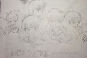 Inu Yasha Group Pic by forgottenanime