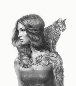 Cat person by AnastasiaKraevskaia