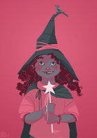 The Little Witch by FionaCreates