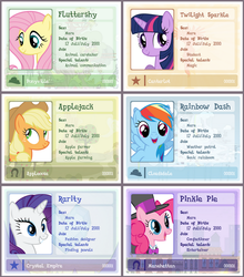 MLP ID card template [UPDATED!] by Pa-Kalsha