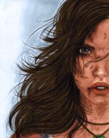 Lara Croft - Survivor Colors (As-If-I-Draw) by Ms-Marvel-Avenger