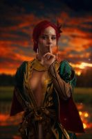 Triss by Akunohako