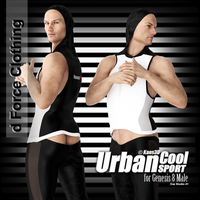 Urban Cool - Sport Morphs Preview by Kaos3d