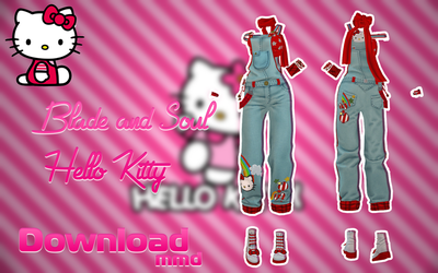 MMD BLADE AND SOUL - Hello Kitty - [DOWNLOAD][DL] by Milionna